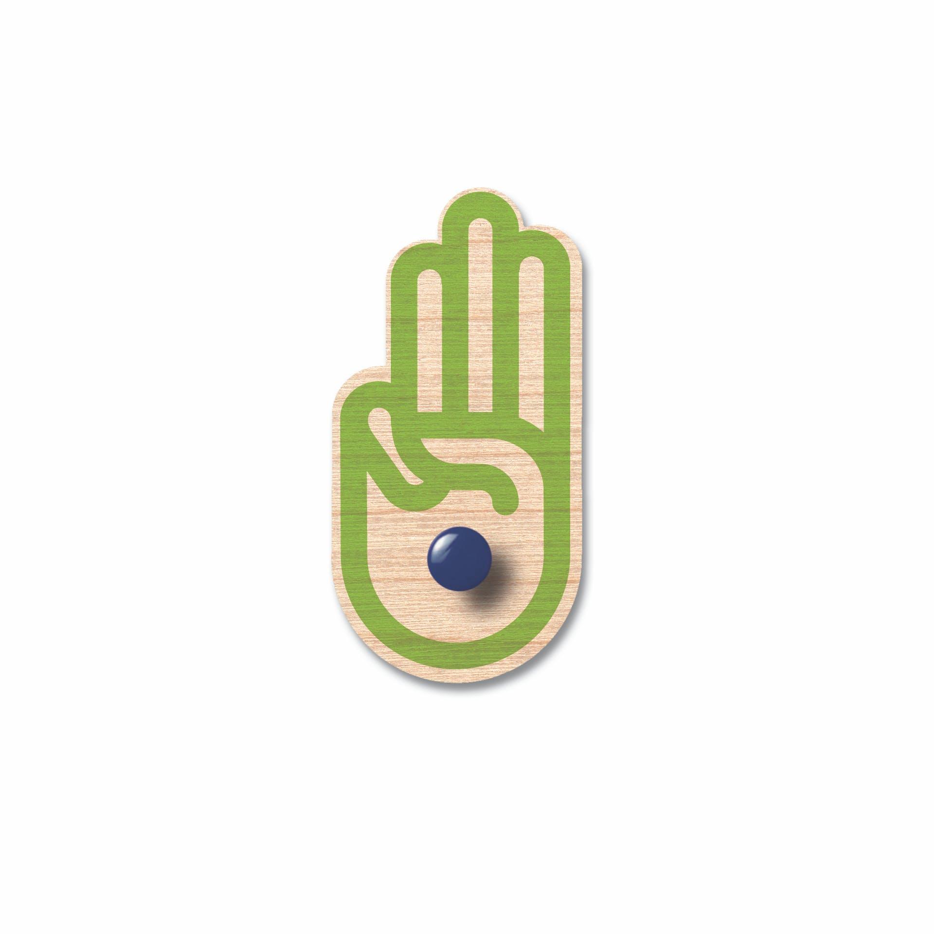 Symbol för scoutlag och löfte